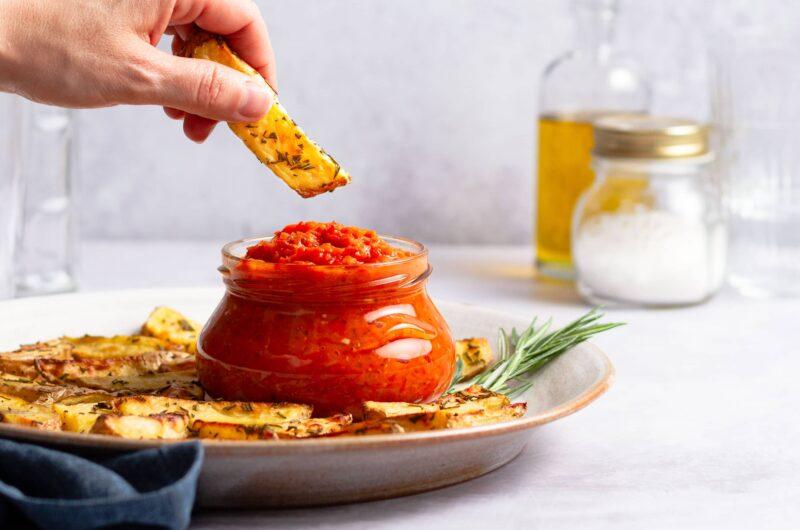 Fruchtige Paprika-Tomatensauce