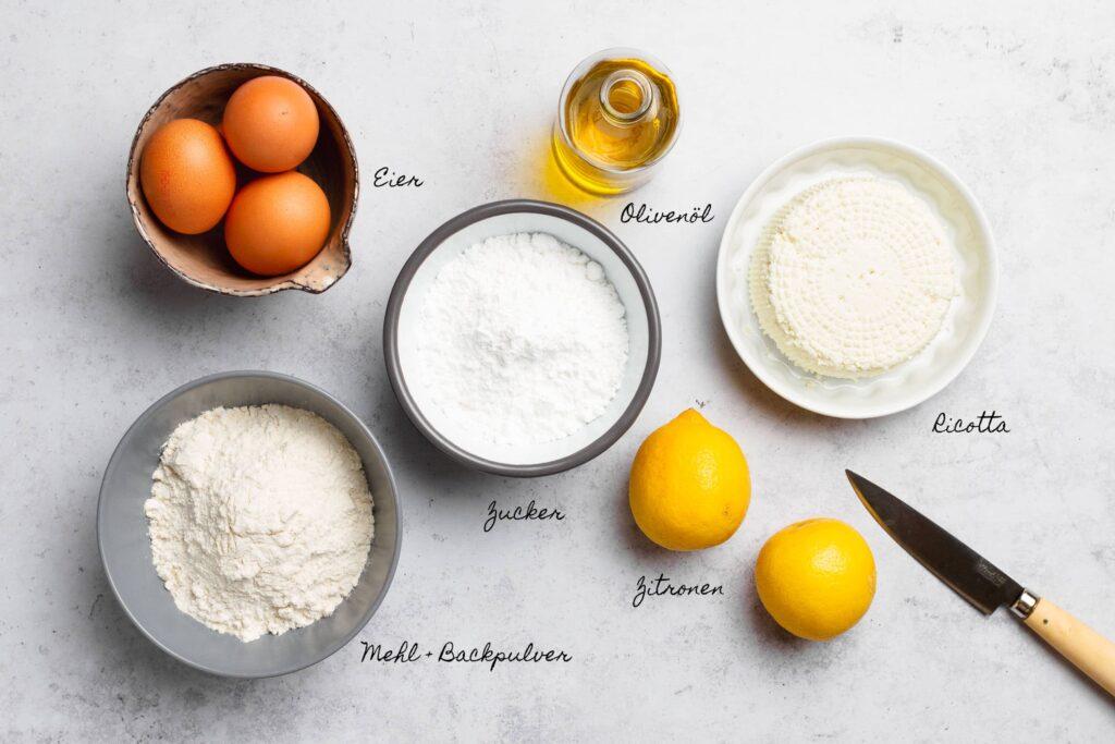 Ricotta-Zitronen-Kuchen mit Olivenöl | Genussfreude.at