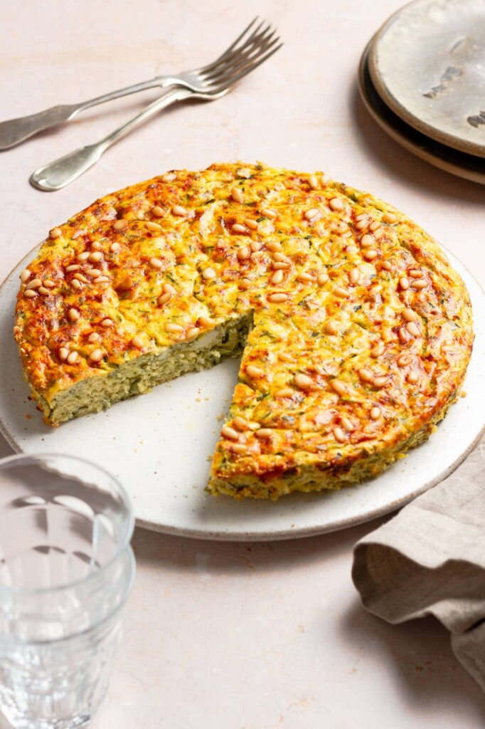 Zucchini-Quiche ohne Boden | Genussfreude.at