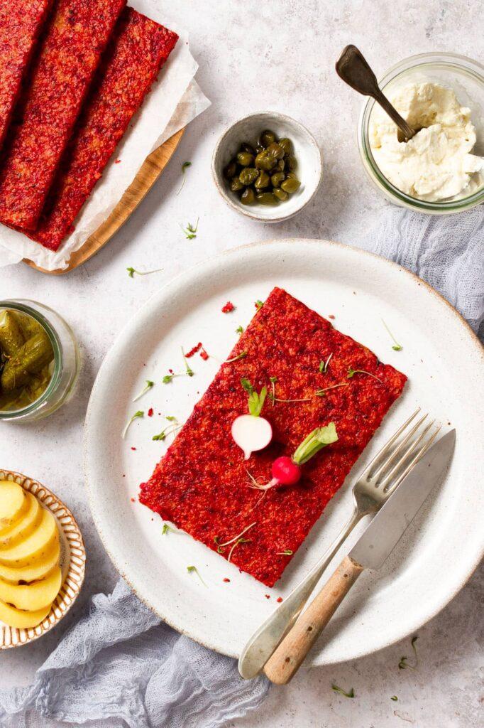 Belegte Brote aus Blumenkohl und Roten Rüben | Genussfreude.at