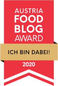 Austrian Food Blog Award. Ich bin dabei!