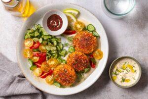 Karotten-Tofu-Laibchen | Genussfreude.at