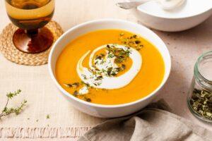 Sämige Karotten-Süßkartoffelsuppe | Genussfreude.at